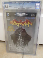 DC BATMAN #11 1:100 Sketch Cover CGC 9.6