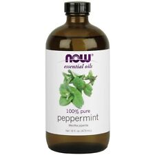 NOW Foods Peppermint Oil 16 fl. oz FREE SHIPPING. MADE IN USA