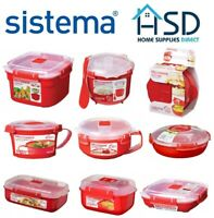 Sistema Microwave plate Steaming Tray 880 ml Food Travel Lunch Cook conteneur
