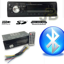 Autoradio Bluetooth Fm Stereo Auto Lettore Mp3 Ingresso Usb Sd Card Aux Radio
