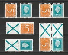 Nederland Stockkaart Combinaties uit Postzegelboekjes 19 Postfris