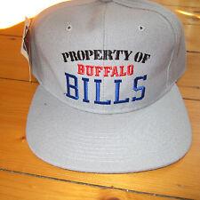 vtg 80-90s PROPERTY OF BUFFALO BILLS FOOTBALL New Era Snapback HAT NWT NFL  USA 468c94c37