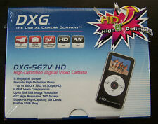 "DXG DXG-567VK HD POCKET 1.7"" LCD Camcorder -  Black ""BRAND NEW & SEALED"""