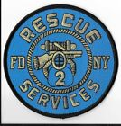 New York Fire Department (FDNY) Rescue 2 Patch V2
