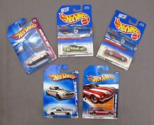 Lot of 5 Hot Wheels 1965 Team Ford Racing Mustang Fastback Cobra Muscle Mania