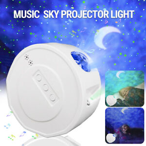 Galaxy Starry Night Light Projector Bluetooth Moon Star Sky Party LED Night Lamp