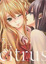 citrus Vol.5 Special Edition Manga Comic w/Booklet Japan Saburouta 9784758075459