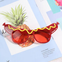 1pc sausage Party Sunglasses Funny Novelty Eyeglasses Party Supplie A8A