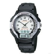 Casio WS-300-7 New Original 10 Lap Memory Analog Digital Sport Mens Watch WS-300