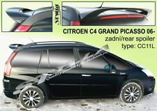 SPOILER REAR ROOF CITROEN C4 GRAND PICASSO WING ACCESSORIES