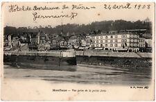 CPA 14 - HONFLEUR (Calvados) - Vue prise de la petite Jetée - B.F.
