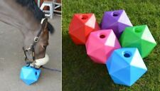 "Equine Horse and Pony Treat,Snack Ball. 9"" (6 litre) Feeder, 6 x Colour Options"