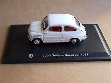 Leo Models CAR DIE CAST ABARTH 1:43 NEW - FIAT 1000 BERLINA CORSA 1963   [MV-1 ]