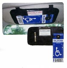 HANDICAP TAG CAR VISOR POCKET