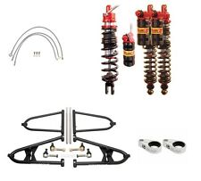 YFZ450 06 UP Chromoly Alba A Arms +2 Elka Legacy Stage 3 Front Rear Shocks Lines