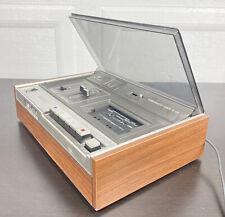 Sony TC-129 Stereo Tapecorder Superscope Cassette Recorder W/ Original Cords