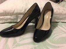 Joanne Mercer Black Patent Leather Shoe Women's sz 8 **LIKE NEW** Free Post!!