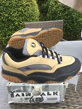 AIRWALK 'HUB BUB' SKATE SHOES sz10/eu45 JASON LEE/ONE/ES/KOSTON/OSIRIS/VIC/MUSKA