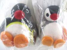 Pingu & Pinga SET Rare prize Mister Donut JAPAN Promotional Plush doll Limited