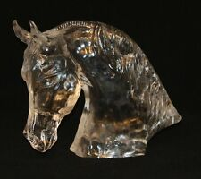 Monumental Baccarat Crystal Tauni de Lesseps Horse Head Limited Edition #13/250