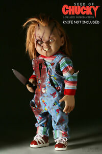 CHUCKY CHILDS PLAY POSTER PRINT WALL ART a - VARIOUS SIZES & FRAMED OPTION