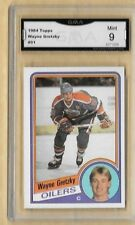1984 Topps Wayne Gretzky #51 GRADED GAM 9 MINT OILERS