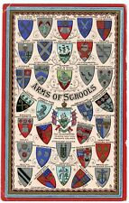 Postcard - British Coats of Arms of Schools, 34 Different Schools - Circa 1910