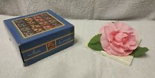 1980s NIB- AVON- Corsage- Perfect Loveliness- Camellia- Flower- In Original Box