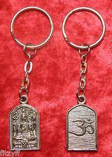 Buddha Om Keyring Holy Buddhism Religious Aum Dharmic omkara Key Ring