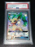 Pokemon Card PSA 10 GEM MINT Leafeon GX Hidden Fates Shiny Vault SV46/SV94