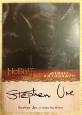 The Hobbit Desolation of Smaug Autograph Card Stephen Ure as Fimbul