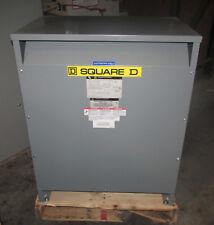 Sq.D 75 KVA 460-460Y/266 480-480Y/277 3 phase transformer Cat# 75T145HISCUDITSW3
