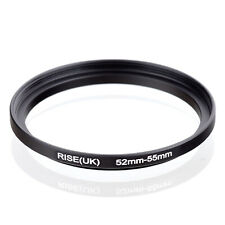 RISE(UK) 52mm to 55mm 52-55mm 52mm-55mm Stepping-up Step Up Filter Ring Adapter