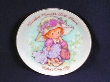 Avon Collectors Plate 1981 Mother's Day Cherished Moments Last Forever