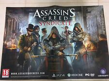 Assassin's Creed Syndicate Poster PS4 XBOX PC New Collectors 59 X 42 Free Ship