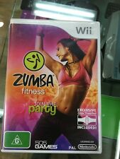 Zumba fitness Wii (belt not included)