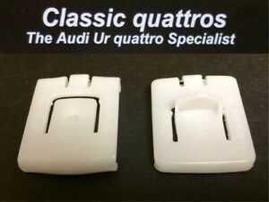 INNER & OUTER FRONT SEAT RAIL GUIDES AUDI UR QUATTRO-COUPE-80-90-100-200
