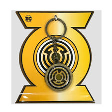 Justice League sinestro keychain Yellow Lantern Symbol Green Lantern Villain