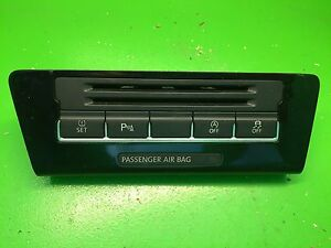 VW SHARAN 7N 2010-2015 CONTROL PANEL WITH MULTIPLE SWITCHES 7N2927132H