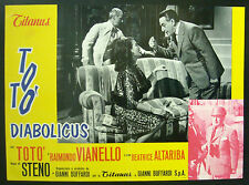 CINEMA-fotobusta TOTò DIABOLICUS r. vianello,b.altariba