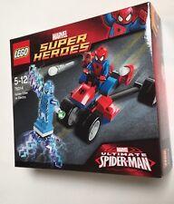 LEGO 76014 MARVEL SUPERHEROES SPIDER-TRIKE VS ELECTRO Retired Sealed Spider-Man