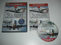 SUPREME AIRLINER COLLECTION Pc 12 Aircraft Add-On Flight Simulator 2004 & X FSX