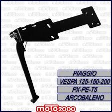 CAVALLETTO LATERALE NERO BUZZETTI PIAGGIO VESPA PX 125 150 200 ARCOBALENO PE T5