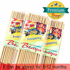 50 Prosperity Premium Scent Incense Sticks Aroma Incense Cones Bulk Btaya