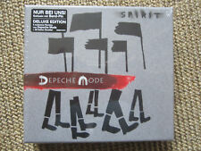 DEPECHE MODE SPIRIT Deluxe 2 CD with Bande-Pin 5 remixé New! Neuf dans sa boîte! Jungle mixages