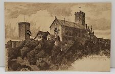 Germany Warburg Castle, Carl Jander Berlin, Postcard B2