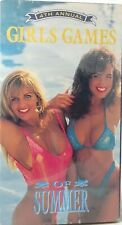 """New Sealed, """"Girls Games of Summer"""" 4th Annual! VHS Vintage Rare 1994 Swimsuit"""