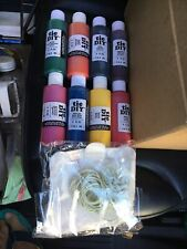 One-Step 8 Color Tie-Dye Kits Ultimate, (4 oz each) Not In Original Box