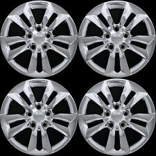 "4 New Chrome 2006-2014 Hyundai Sonata GLS 16"" Bolt On Hub Caps Rim Wheel Covers"