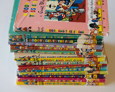 Vintage Noddy Books by Enid Blyton, set of 15 hardcover books with dust jackets